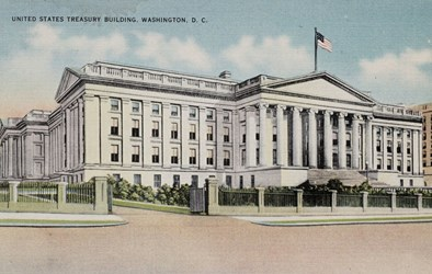 United States Treasury Building, Washington, D.C.