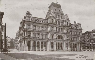 Post Office & Sub Treasury Building, Boston, Mass.