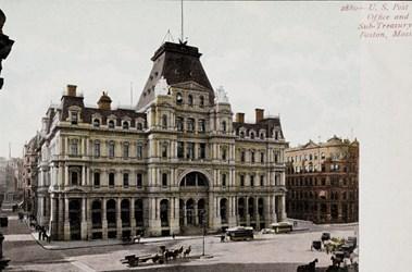 U.S. Post Office and Sub-Treasury, Boston, Mass.