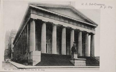 U.S. Sub-Treasury, N.Y. City