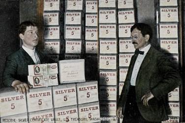 Reserve Silver Certificate Vault, U.S. Treasury, Washington, D.C.