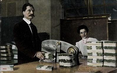 Cutting machine, U.S. Treasury, Washington, U.S.