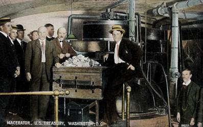 Macerator, U.S. Treasury, Washington, D.C.