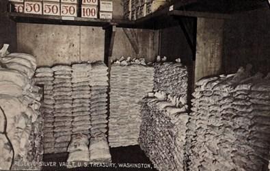 Reserve Silver Vault, U.S. Treasury, Washington, D.C.