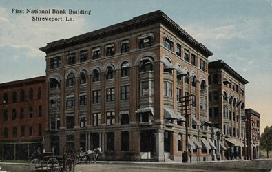 First National Bank Building, Shreveport, La.
