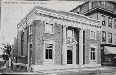 First National Bank Building, Bar Harbor, Maine
