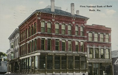 First National Bank of Bath, Me.