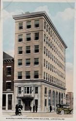 Manufacturers' National Bank, Lewiston, ME.