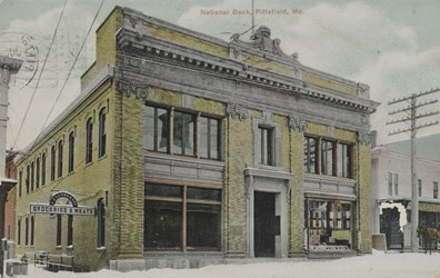 National Bank, Pittsfield, Me.