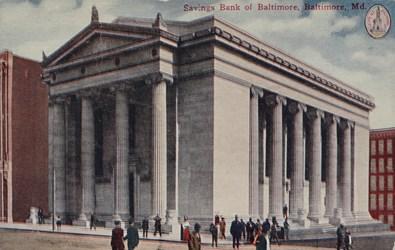 Savings Bank of Baltimore, Baltimore, Md.