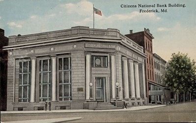 Citizens National Bank, Frederick, MD.