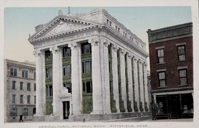 Agricultural National Bank, Pittsfield, Mass.