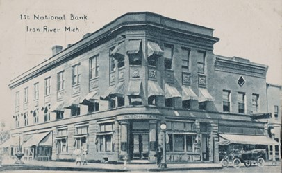 1st National Bank, Iron River Mich.