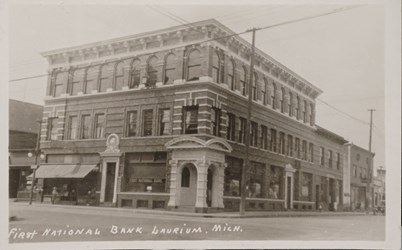 First National Bank Laurium, Mich.