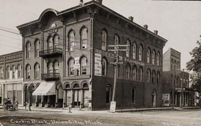 Corbin Block, Union City, Mich. 36412