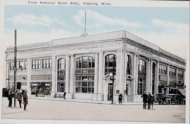 First National Bank Bldg., Hibbing, Minn. 12057
