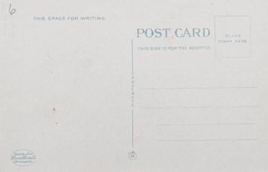 Reverse Side: First National Bank Bldg., Hibbing, Minn. 12057