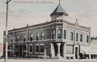 First National Bank, Lake Crystal, Minn.