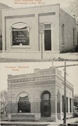 First National Bank, Minnesota Lake, Minn.