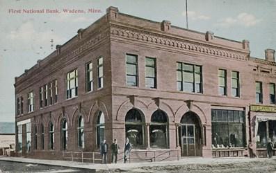 First National Bank. Wadena, Minn.