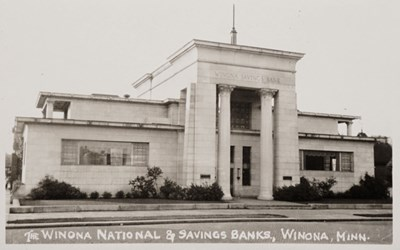 The Winona National&Savings Banks, Winona, Minn.