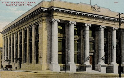 First National Bank, Kansas City, MO.