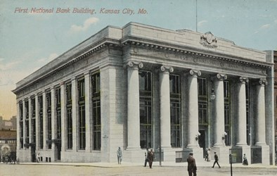 First National Bank Building, Kansas City, MO.