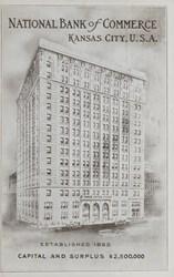 National Bank of Commerce Kansas City, U.S.A.