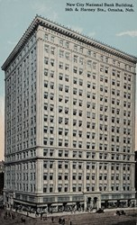 New City National Bank Building, 16th & Harney Sts., Omaha, Neb.