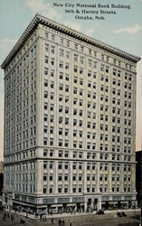 New City National Bank Building, 16th & Harney Streets, Omaha, Neb.