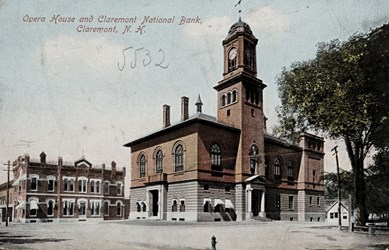 Opera House and Claremont National Bank, Claremont, N.H. 5532