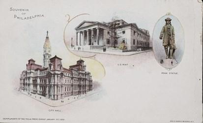 Souvenir of Philadelphia
