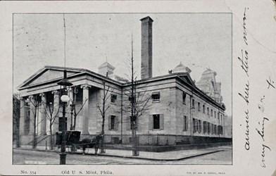 No. 554. Old U.S. Mint, Phila