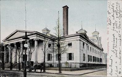 U.S. Series 126/5. Philadelphia, Pa. Old U.S. Mint
