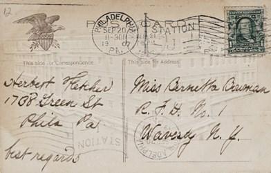 Reverse side: The United States Mint, Philadelphia, PA.