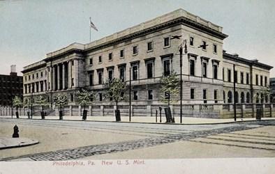 Philadelphia, Pa. New U.S. Mint.