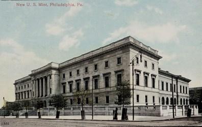New U.S. Mint, Philadelphia, Pa.