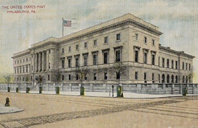 The United States Mint, Philadelphia, Pa.