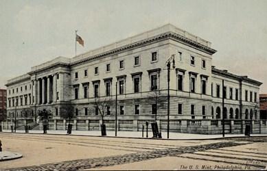 The U.S. Mint, Philadelphia, Pa.