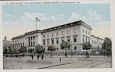 U.S. Mint House, 17th and Spring Garden Streets, Philadelphia, PA.