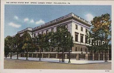 The United States Mint, Spring Garden Street, Philadelphia, Pa.