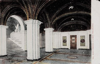 Main corridor. U.S. Mint, Philadelphia.