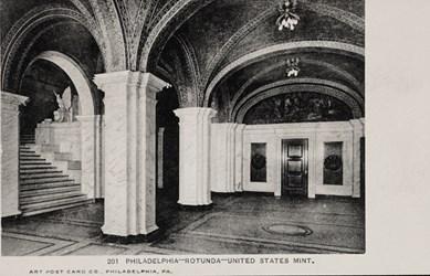 Philadelphia�Rotunda�United States Mint.