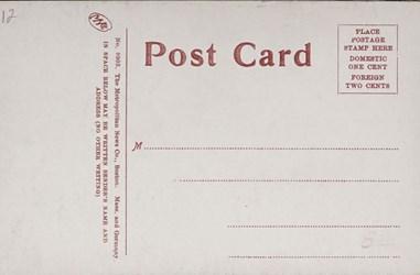 Reverse side: Making Money, United States Mint, Philadelphia, Pa.