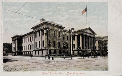 United States Mint. San Francisco.