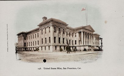 United States Mint. San Francisco, Cal.