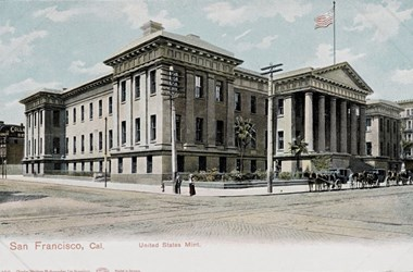 San Francisco, Cal. United States Mint.