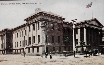 United States Mint, San Francisco, Cal.