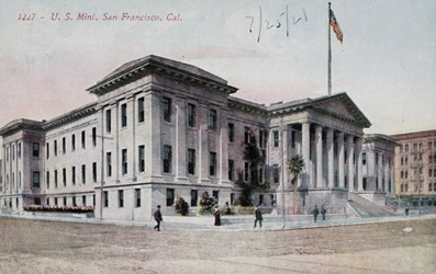 U.S. Mint, San Francisco, Cal.