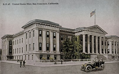 United States Mint, San Francisco, California.